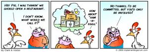 Standup meeting example Chicken and pig story