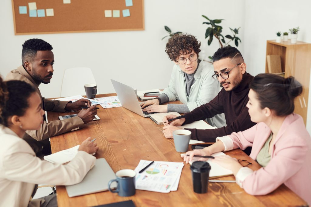 Efficient Communication of a Team