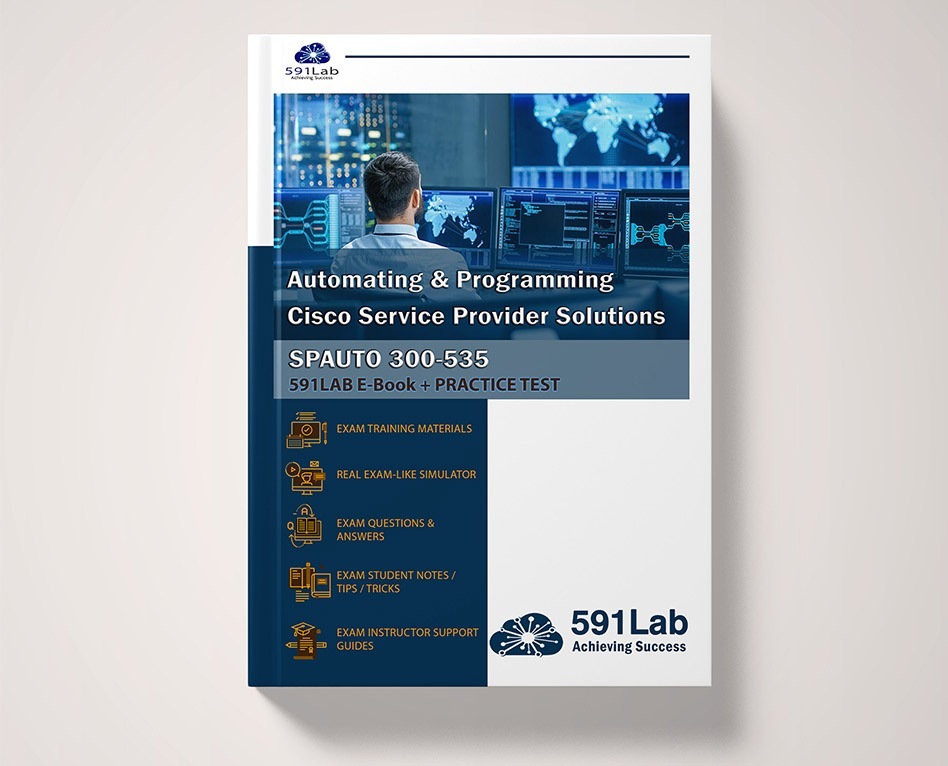 300-535 professional certification program on cisco automating & programming service provider solution